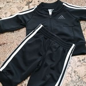 3 months Adidas track suit